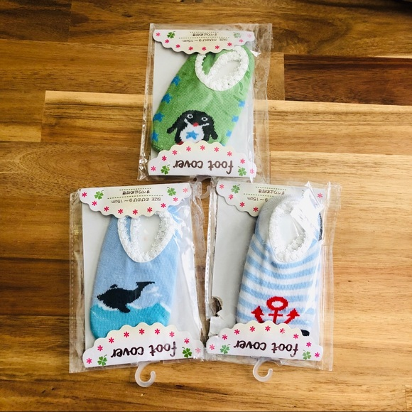 Other - Baby Non-skid Sock Bundle